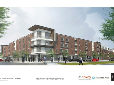 North Street Redevelopment Project Begins Construction in Fishers