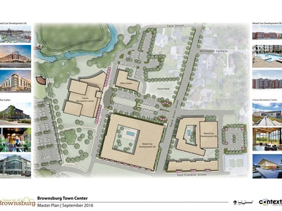 Drawing Up Brownsburg's New Downtown