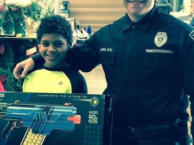 Envoy Team Member Participates in Cops & Kids Program