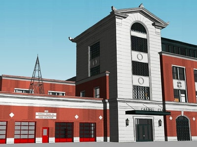 Carmel Fire Department Headquarters and Museum Project Officially Underway